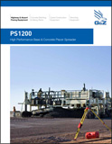 PS1200 Concrete Placer Spreader Brochure