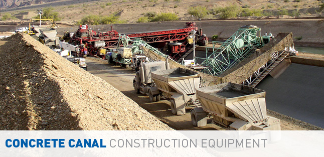 Concrete Canal Construction Equipment