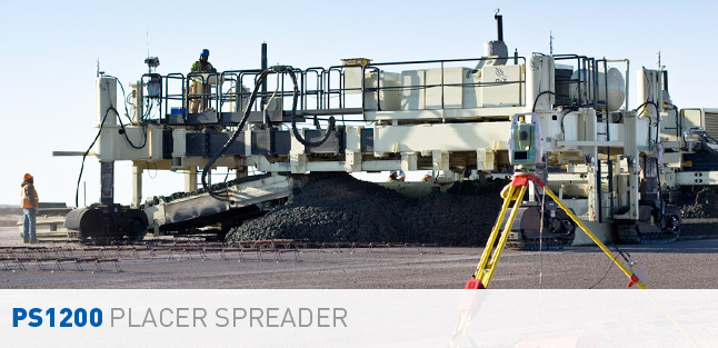 PS1200 Concrete Placer Spreader